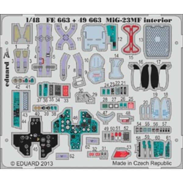 Mig 23MF interior satrumpe