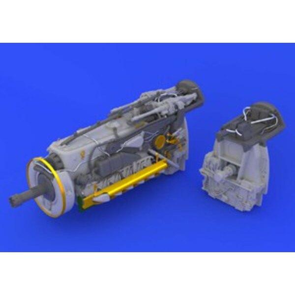 bf 109g -6 engine revell