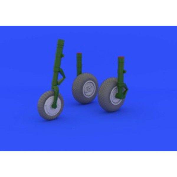 me 262 wheels trumpeter