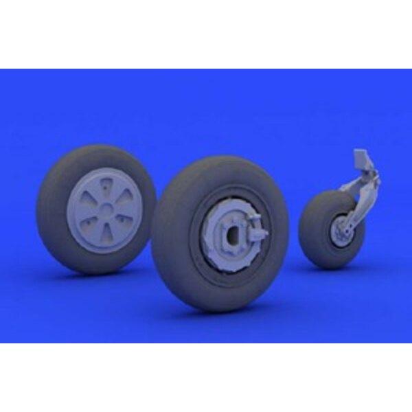 mig 21 pfm wheels eduard