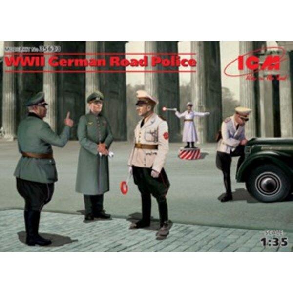 Figurines de la police allemande de la 2ème GM