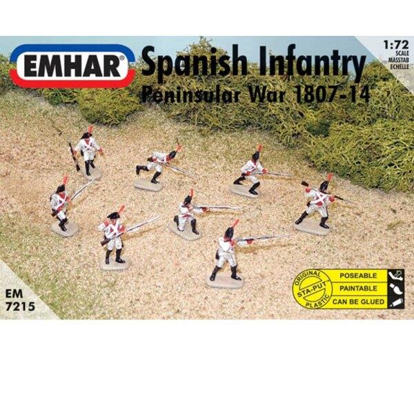 infanterie espagnole de la Guerre d'Espagne - Napoléonien
