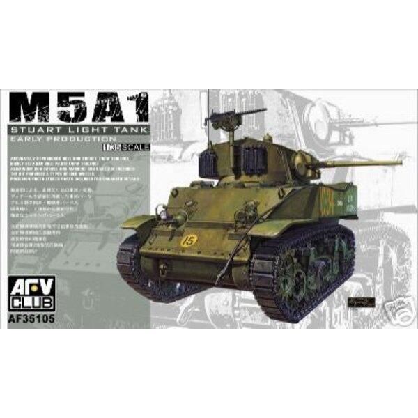 M5A1 Stuart première version