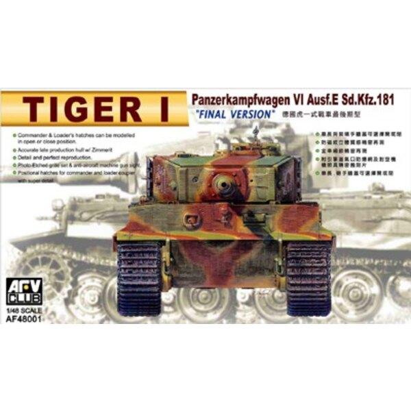 Tiger I Ausf. E Sd. Version finale de Kfz/181