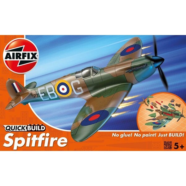 Spitfire Quick Build (No glue or paint required)