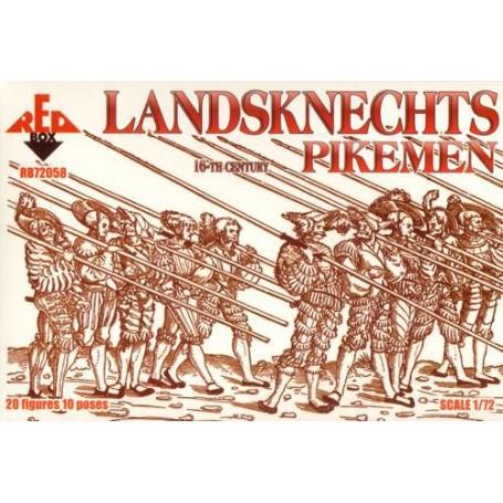 Landsknechts Pikemen 16th century