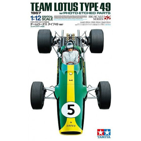 Team Lotus Type 49 1967 (with Photo-Etched Parts)