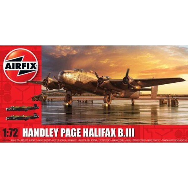 Handley-Page Halifax B MK.III (OLD OUTILLAGE. PAS NOUVEAU)