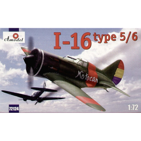 Polikarpov I-16 type 5 / tape 6 - 8 marquages : 6 Espagne x 2 Aviation Russe x décembre 1939 URSS l'Aviation espagnole de décemb