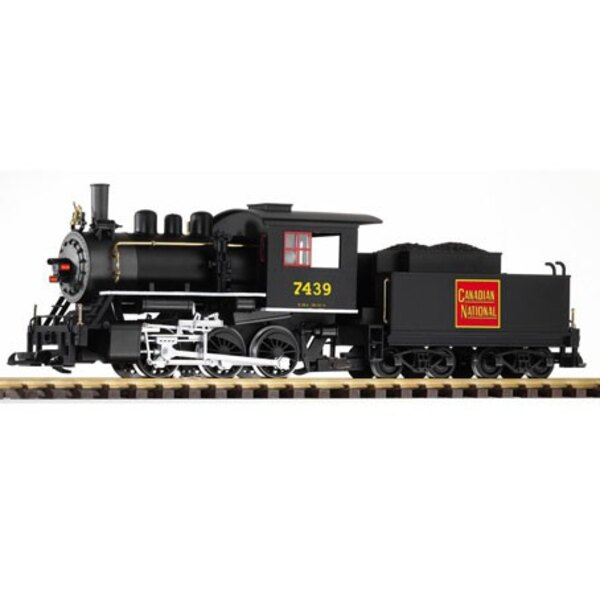 G LOCOMOTIVE VAPEUR 7439 CN SON