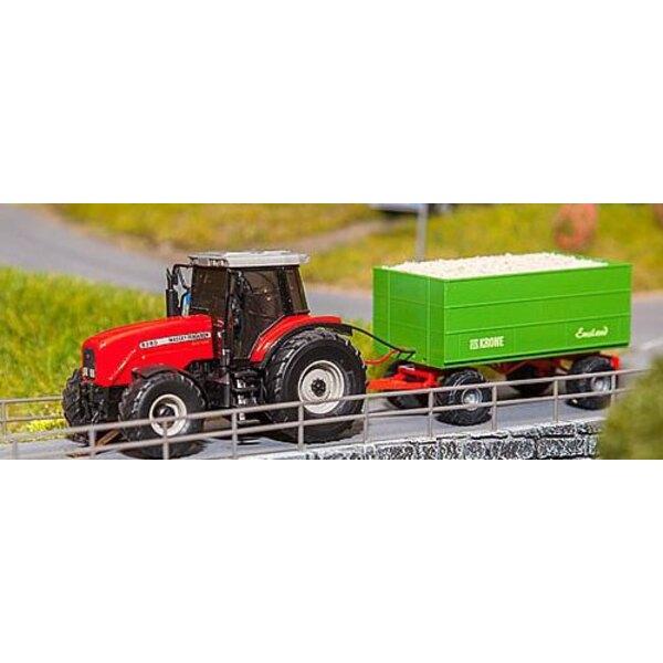 Car system tracteur MF copeaux