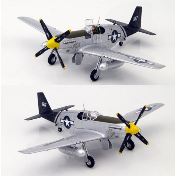 P-51C Mustang Little Jeep Cpt F.H.Parham 75thFS/23rdFG