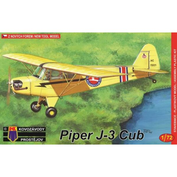 Piper J-3 Cub (all new kit from metal moulds)