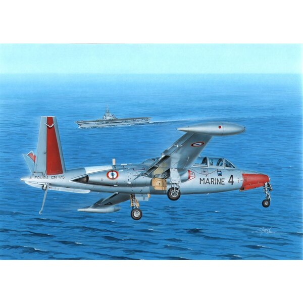 Fouga CM-175 Zephyr The Fouga Magister was among the most wide-spread jet trainers of the World. However, its navalized version