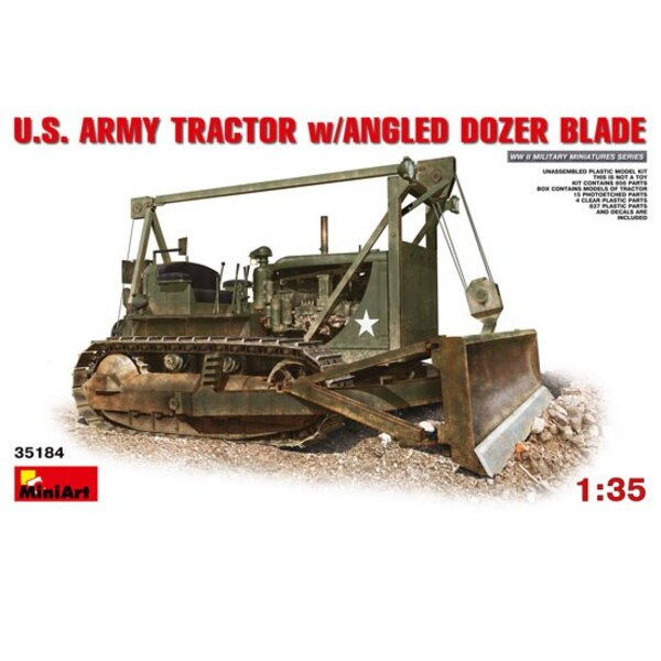 US Army Tractor + Blade