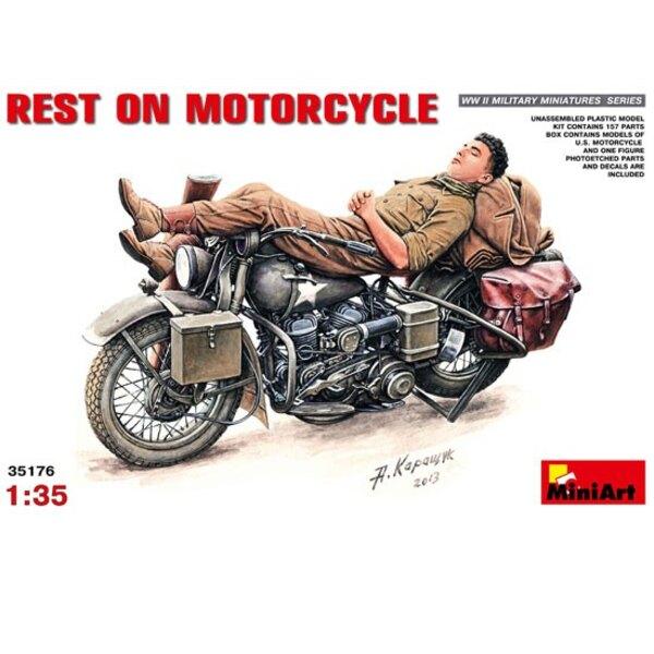 Pause sur la Moto
