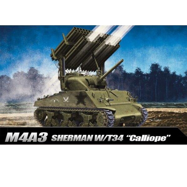 Academy 13500 1:35 M4A3 Sherman 76 mm Armée Américaine Bataille des Ardennes Tank Model Kit