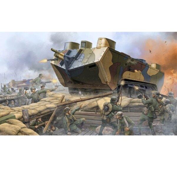 Saint Chamond H. Tank WWI