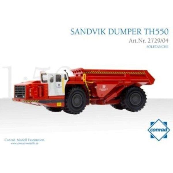 SANDVIK TH550 DUMPER SOLETANCHE