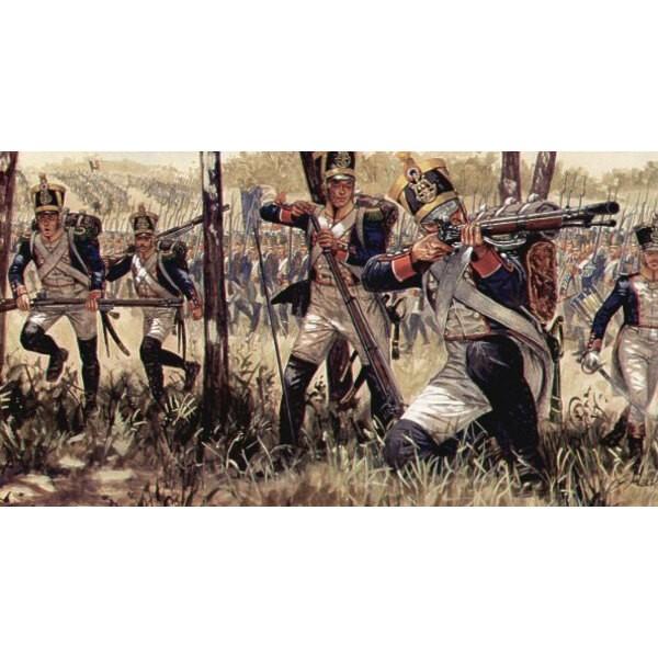 Infantería Francés Guerras Napoleónicas