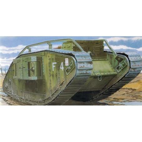 Char lourd Mk IV de 1ère GM Femelle