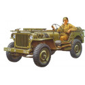 Willys MB Jeep with driver & decals for 5 versions