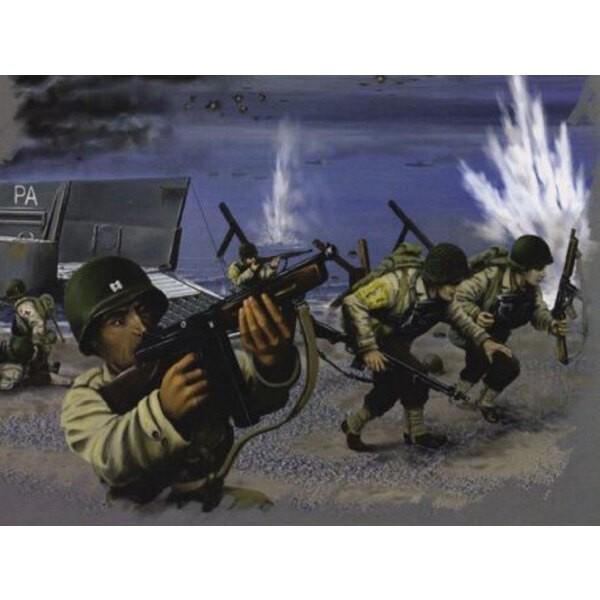 Troupes US du Jour-J (2ème GM) - 40 poses