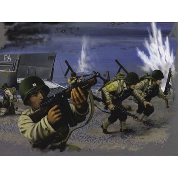 WWII US Troops D-Day - 40+ poses