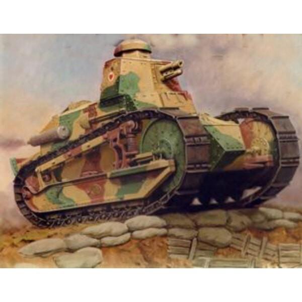 Francés FT-17 tanque ligero (Riveted Turret)
