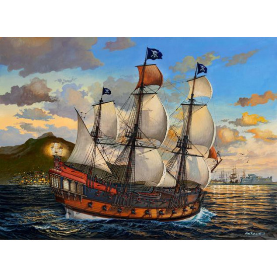 revell 05605 bateau pirate maquette bateau 1 72 le plus grand choix avec. Black Bedroom Furniture Sets. Home Design Ideas