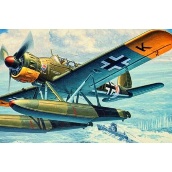 Arado Ar 196A-3 float plane