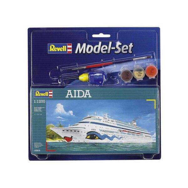 Aida Model Set - coffret contenant la maquette, les peintures, pinceau et colle