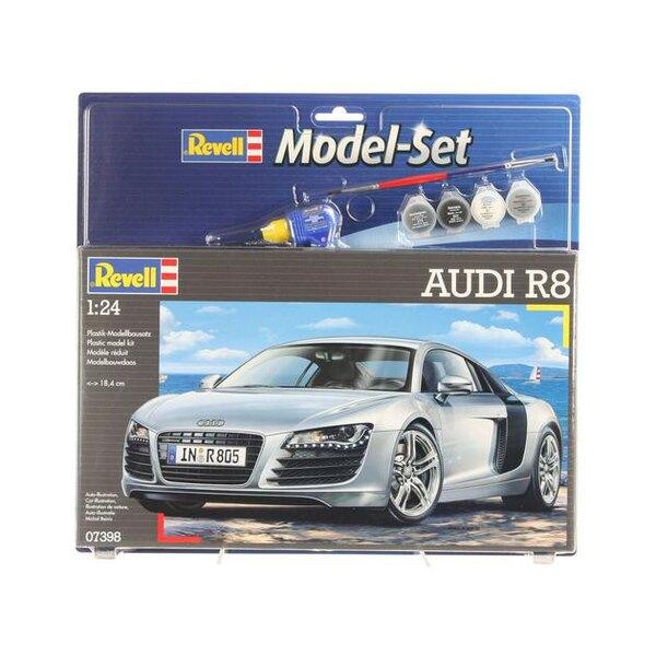 Audi R8 Model Set - coffret contenant la maquette, les peintures, pinceau et colle
