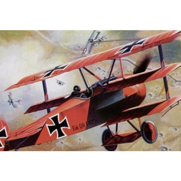 Fokker Dr.I Triplane (New tooling!)