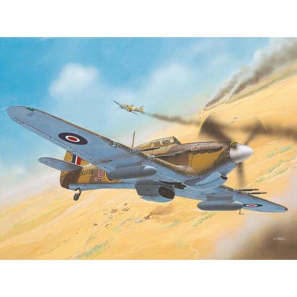 Hawker Hurricane Mk.IIC - version théâtre d'opérations afrique du Nord