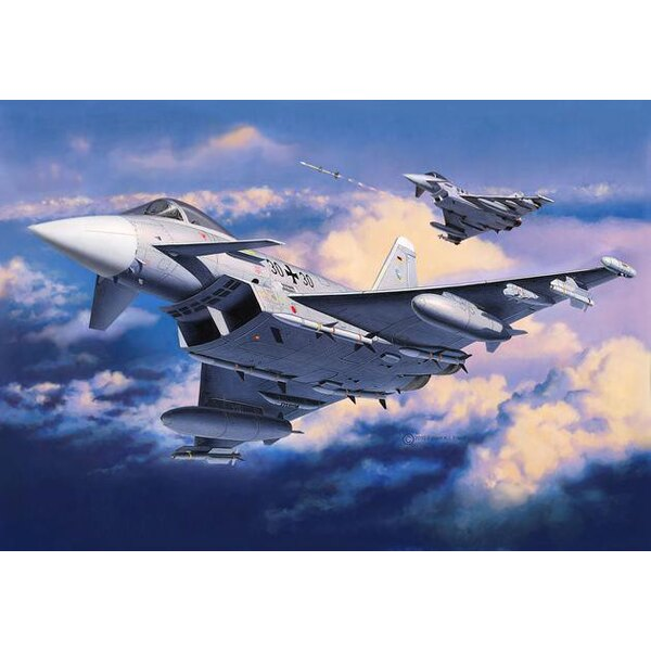 Eurofighter Typhoon (monoplace) (retravaillé)