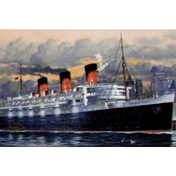 Queen Mary (1st vessel NOT the new vessel)