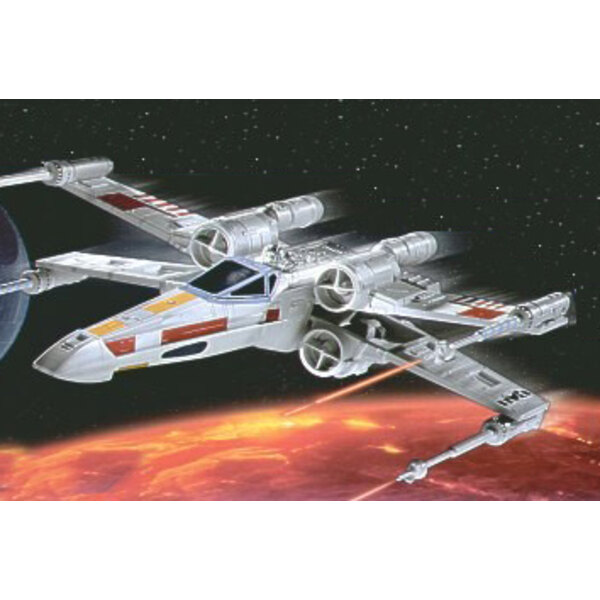 X-wing Fighter (Luke Skywalker, Star Wars) - easykit (maquette pré-peinte à assembler sans colle)