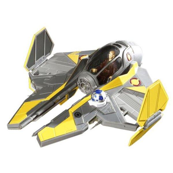 Le Starfighter Jedi d'Anakin - maquette pré-peinte à monter sans colle (Star Wars)
