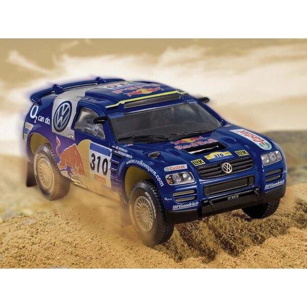 VW/Volkswagen Touareg Paris-Dakar 'Kleinschmidt/Pons' - easykit (maquette pré-peinte à assembler sans colle)