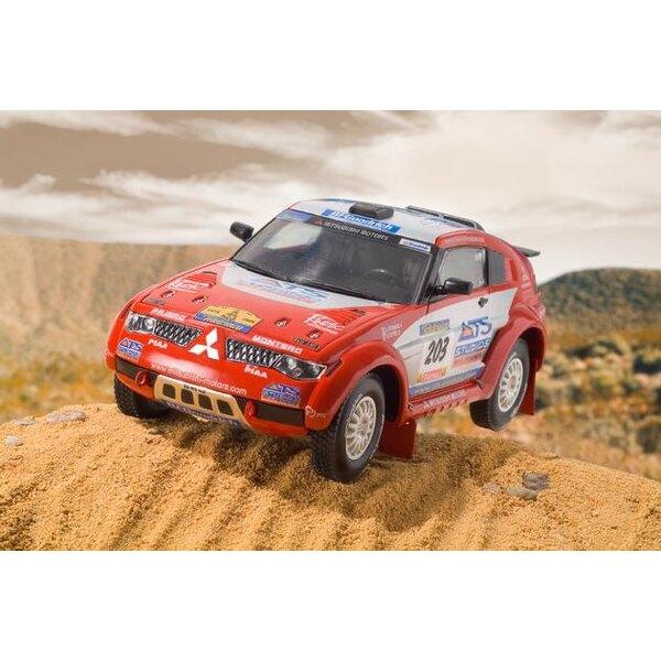 Mitsubishi Pajero Paris-Dakar 'Peterhansel/Cottret' (easykit : maquette à monter sans colle ni peinture)