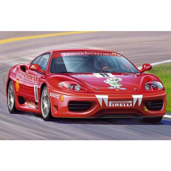Ferrari 360 Challenge 'Markus Lehner' (easykit : maquette à monter sans colle ni peinture)
