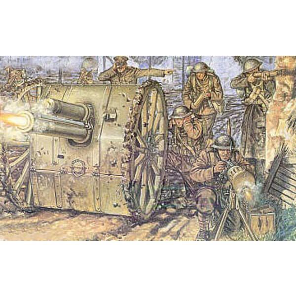 Artillerie britannique de la 1ère GM et canon de 18 pdr