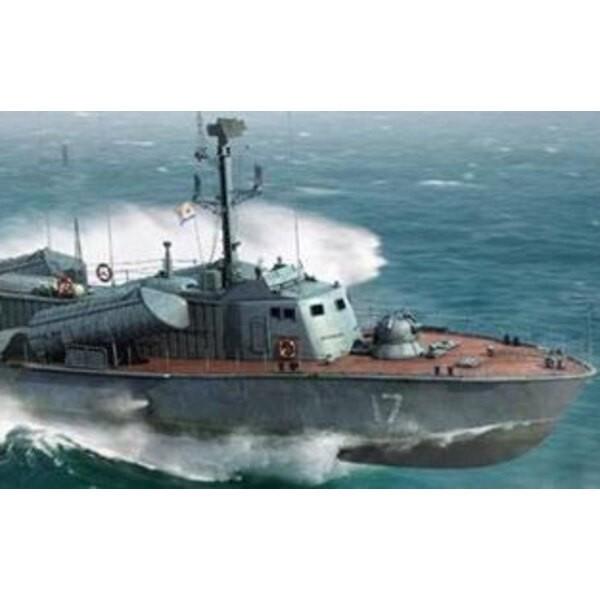 OSA II Armada rusa de misiles Barco