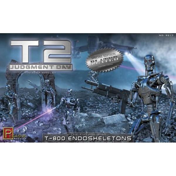 Cromado Terminator endoesqueletos 2T-800 (Kit)