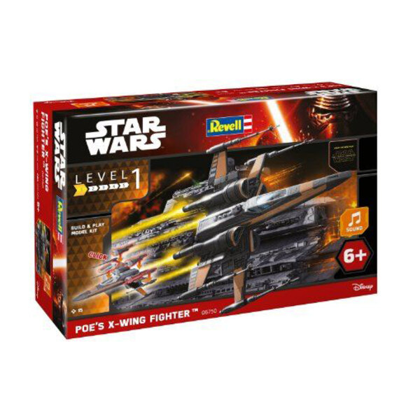 Poe's X-Wing Fighter(TM)Build & Play Lights/Sound Series