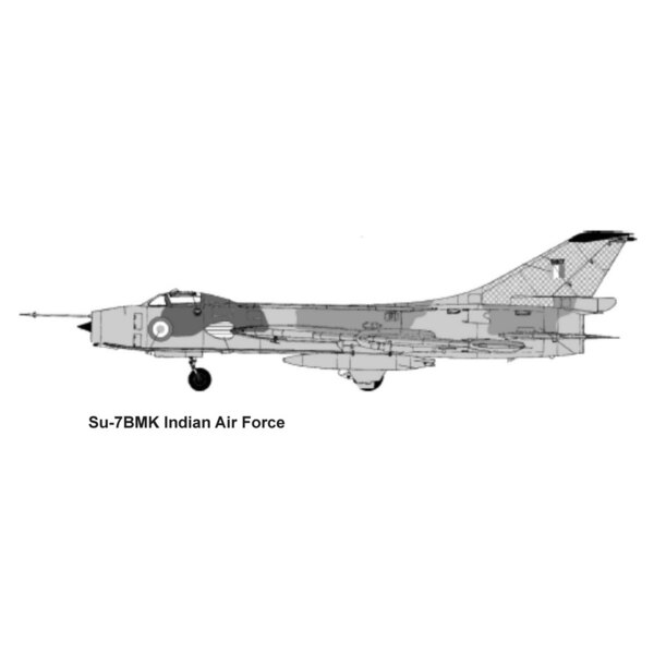 Sukhoi Su-7BMK (2x indienne AF, AF afghane, AF égyptien) (ex-OEZ et Kopro (ex KP)