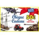 Chèque cadeau de 50 euros 1001hobbies 50EUROS1001