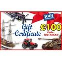 Chèque cadeau de 100 euros 1001hobbies 100EURO1001