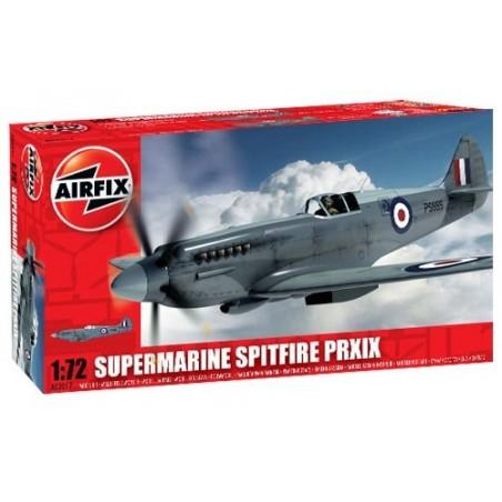 Supermarine Spitfire PR.XIX. Inclut des marquages pour 81 Sqn RAF Malaysia 1954 et Aviation suédoise 1955. Marquages alternatifs